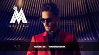 Maluma | Felices los 4 (Versión Urbana) [Cover Audio] | Single (2017)