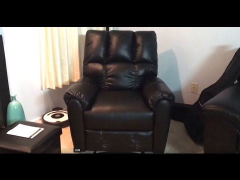 recliner massaging robotic chair leather touch product black massage ht human refurbished
