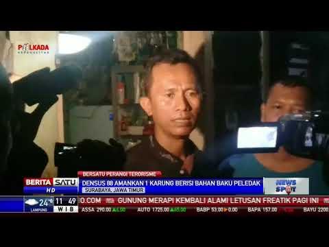 Terduga Teroris Dibekuk di Surabaya, Densus 88 Sita Bahan Peledak