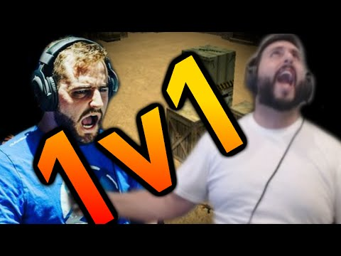 CS:GO - mOE VS FALLEN 1V1!