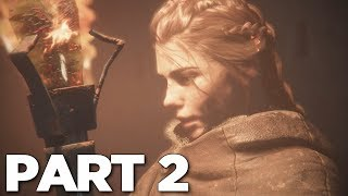 A PLAGUE TALE INNOCENCE Walkthrough Gameplay Part 2 - AMICIA (PS4 Pro)