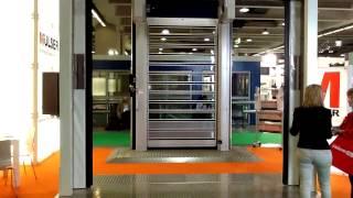 Porte ad apertura veloce orizzontale
