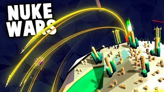 NUKING THE ENEMY! Conquering Planets by FORCE! (Element Gameplay)