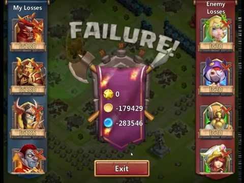 Castle Clash Destroyed By Hack