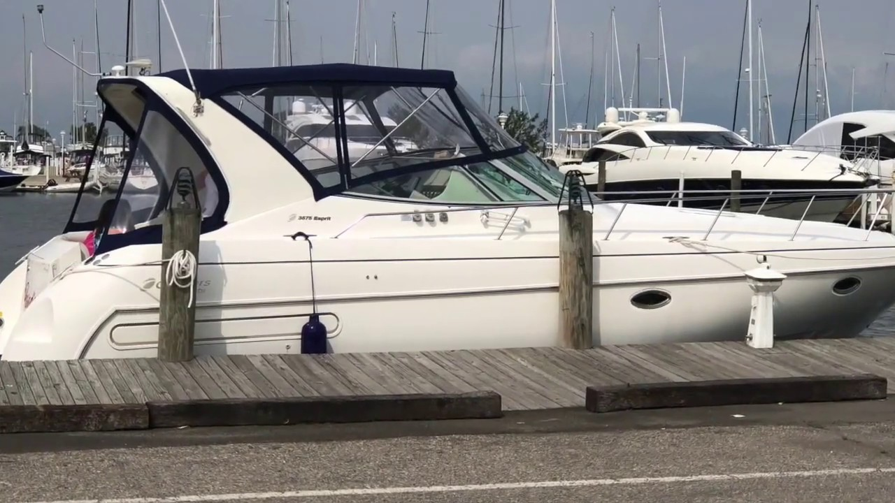 1999 Cruisers Yachts 3575 Esprit Asking 74 900