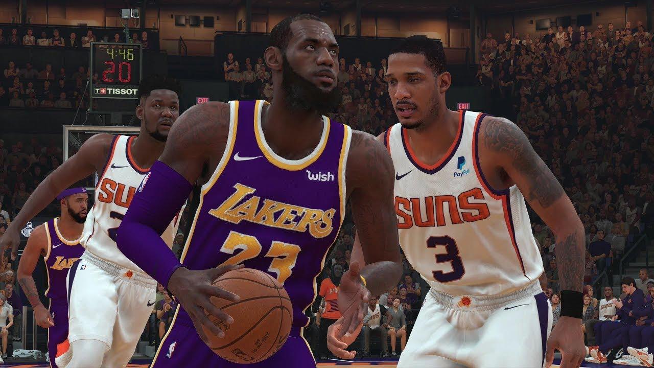 6febb45c80a Los Angeles Lakers vs Phoenix Suns NBA Today October 24th