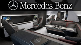 Inside Mercedes's First Private Jet