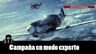 IL2 Battle of Stalingrad: Vista rápida y campaña en modo experto