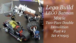 LEGO Build - Batman Movie Two-Face Double Demolition Set #70915 Part 2