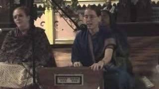 Ratnavali dasi singing Jaya Radhe Jaya Krishna