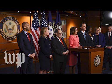 WATCH LIVE | Trump impeachment: Pelosi announces impeachment managers