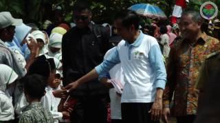 Kunker Mendes PDTT bersama Presiden RI di Desa Sumurgeneng Tuban