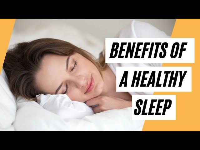 Did You Know That Having A Good Sleep Has A Lot Of Health Benefits (Healthy Sleep)
