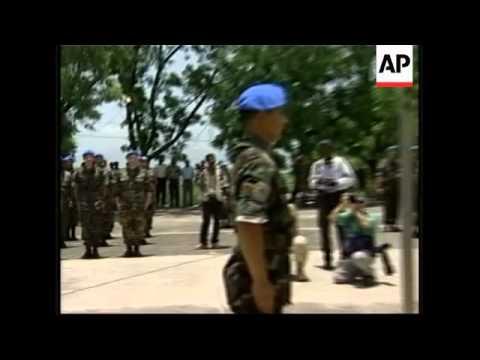 Handover of troops to new Brazilian command