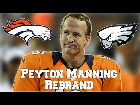 All 32 NFL Logos Rebranded as Peyton Manning Face