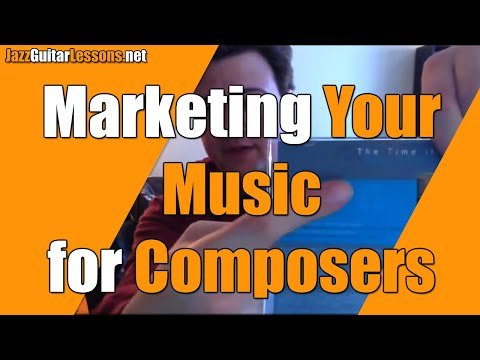 Jazz Career Q&A: Marketing Your Music for Composers