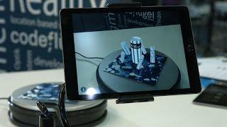 CodeFlügel auf der CeBIT 2017 - Mit Augmented Reality die Realität erweitern