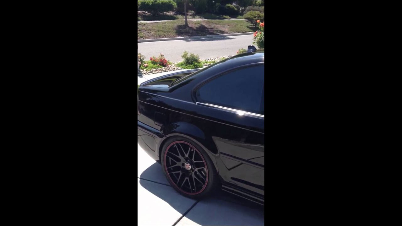 Bmw M3 E46 Blacked Out Youtube