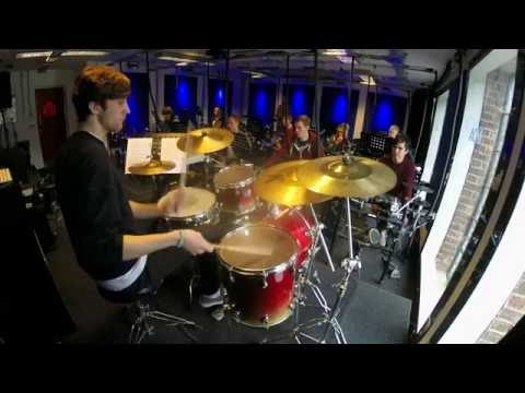 """""""Jazz Crimes"""" Drum Solo Cover By Alex Edwards"""