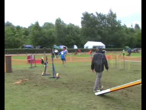 Agility dog European Open 2008   Aragorn e Roberto www.petrademone.it prova di agility individuale