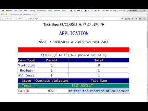 Overview of DbC & TDD (03) Test Account Class