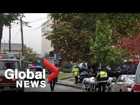 Multiple people dead following shooting at Pittsburgh synagogue