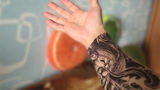 Как клеить татуировки с Алиэкспресс