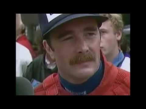 Nigel Mansells First Win 1985 European Grand Prix