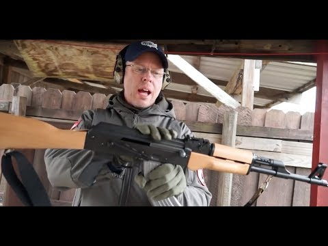 The AK-47 screams reliability but has a questionable past (Cold War Rifles)