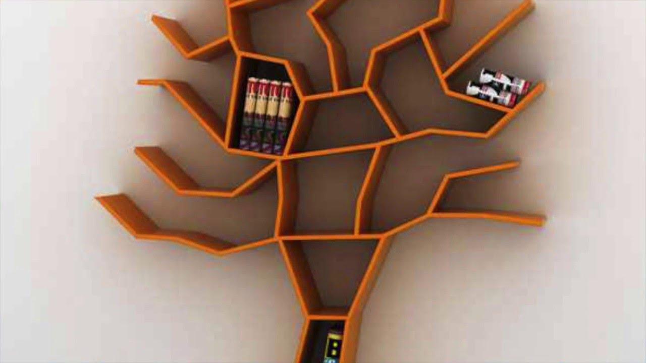 احلي تصاميم مكتبات الكتب Youtube