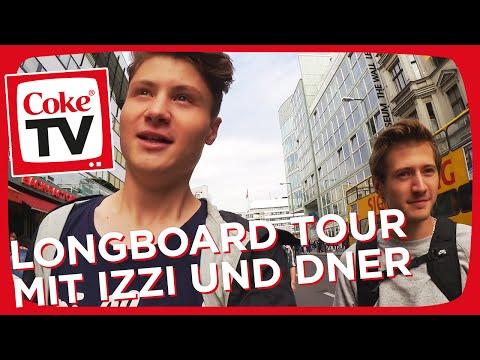 izzi und Dner starten die Longboard Tour 2.0 | #CokeTVMoment