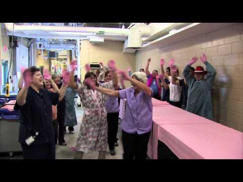 Queen Elizabeth Hospital Pink Glove Dance