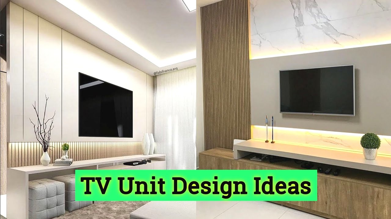 Best Tv Unit Designs For Living Room 2021 Tv Unit Wall Design Ideas Tv Cabinet Design Modern Youtube