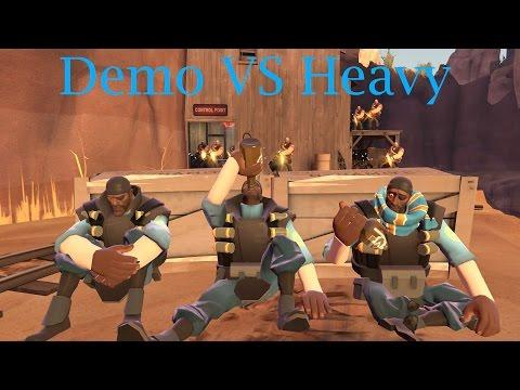 TF2 Bot Battle 23 : Demo Vs Heavy