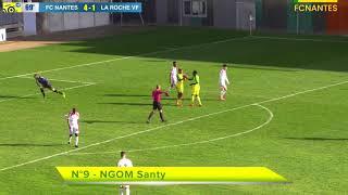 N3. Les buts de FC Nantes - La Roche (5-1)
