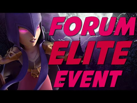 Clash Of Clans | FORUM ELITE EVENT | WHAT IS IT?!? Visit & Highlights!