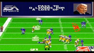 Madden NFL '97 SNES Gameplay HD