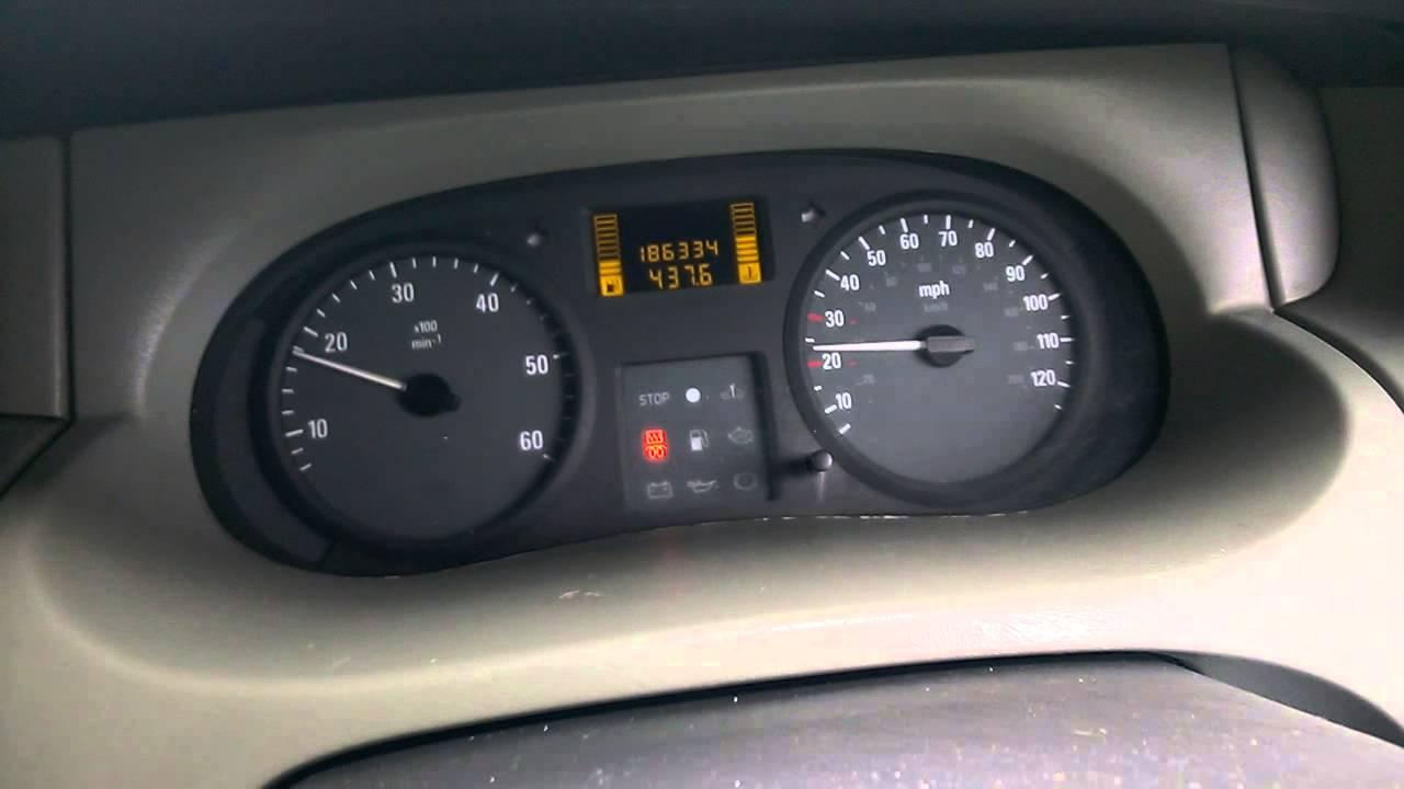 Vauxhall vivaro problem glow plug light help youtube