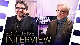 30 Minuten mit Steven Spielberg & Ernest Cline - Über die 80er, digitale Welten & Ready Player One