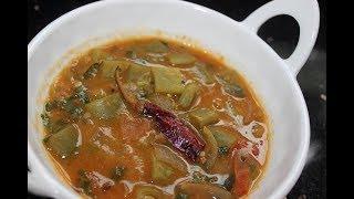 Avarakkai Sambar / Runner Beans Sambar