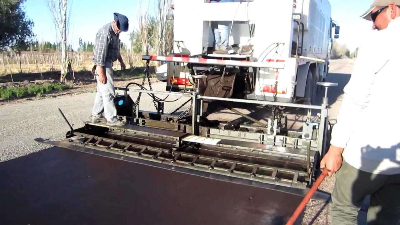 slurry seal machine