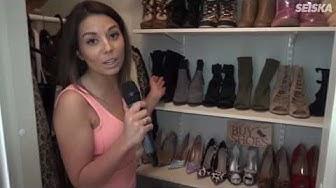 Amanda Harkimo esittelee vaatekaappinsa - huippukalliita kenkiä ja lätkäpelipaitoja!