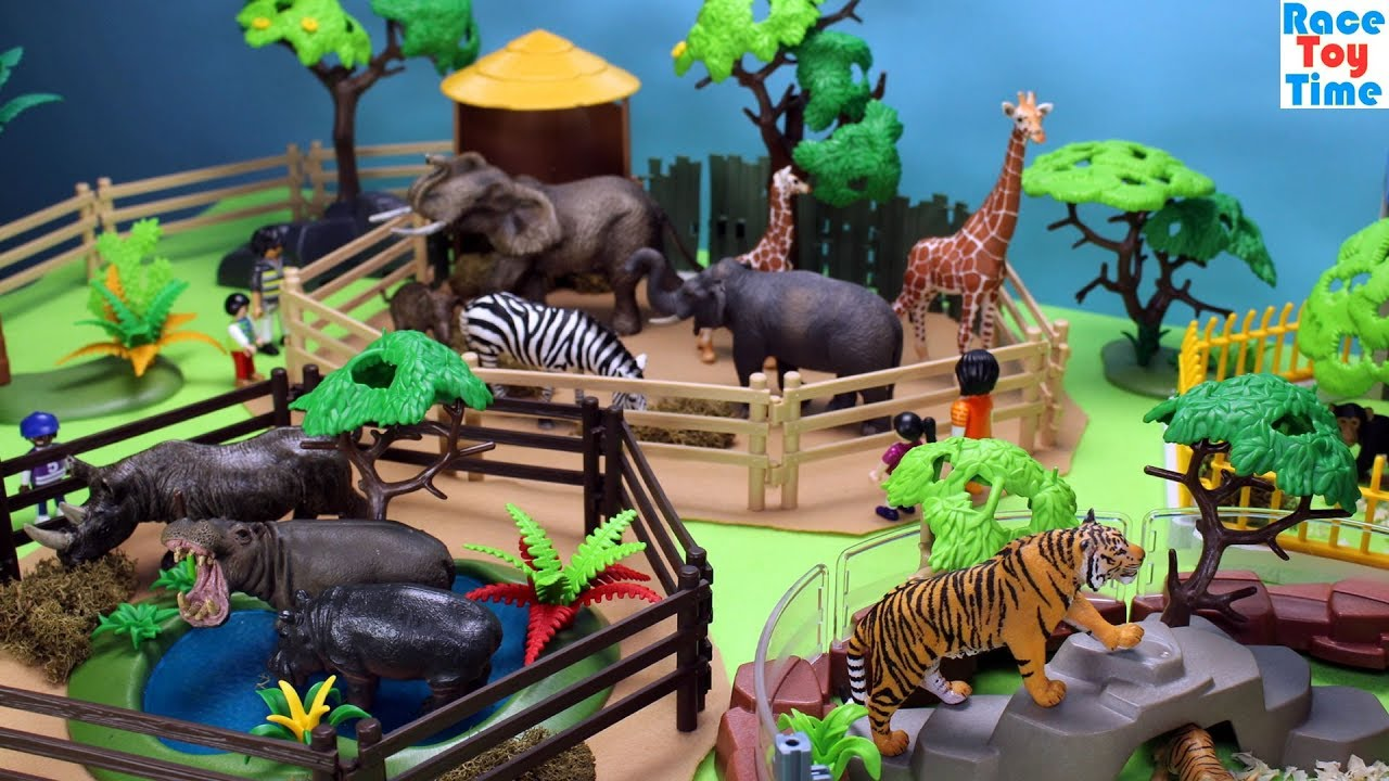 Animals Zoo Fun Toys For Kids Learn Animal Names Video