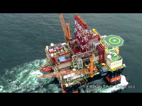 Scarabeo 9, the Ultra Deepwater Rig - Carlsen Group