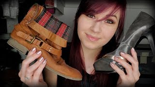 ASMR | My Shoe Collection | Wh…