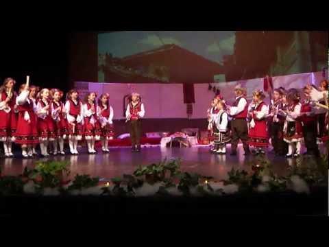 Хопа-Тропа Коледен концерт- От долу идат шарени колца