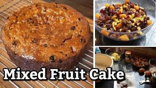 Mixed Fruit Cake With Orange Marmalade Glaze | Recipe Demonstration
