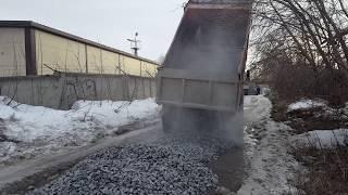 Щебень гранитный 40/70 Новосибирск для дороги #ПГСНСК(, 2018-04-04T03:13:57.000Z)