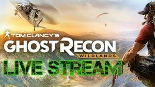 Tom Clancy's Ghost Recon Wildlands Ghost War LIVE!!!
