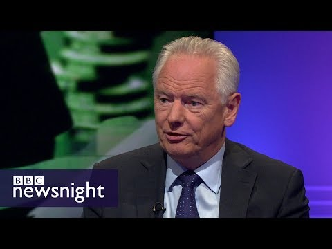 Lord Maude and Anneliese Dodds discuss the public sector pay cap lift – BBC Newsnight